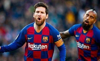 Mirá en vivo la vuelta de Messi y el Barcelona | Fútbol