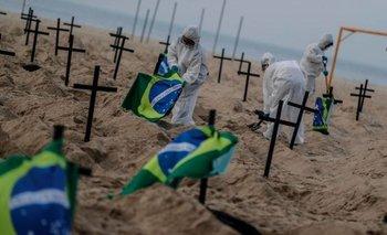 Estremecedor: Cavan tumbas en la playa de Copacabana | Brasil