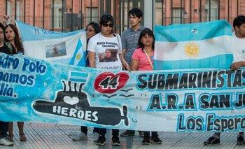Familiares del ARA San Juan sospechan que fueron espiadas | Oscar aguad