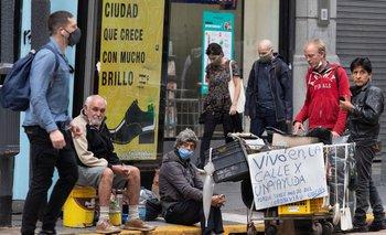 Ciudad: dos muertos en situación de calle en una semana | Coronavirus en argentina