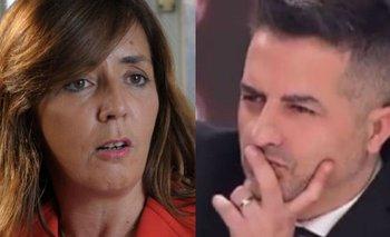 El tenso cruce entre Gabriela Cerruti y Ángel De Brito | Angel de brito