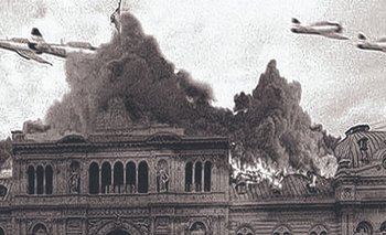 Impactantes imágenes del bombardeo a Plaza de Mayo   Historia