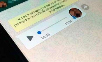 """Cómo escuchar un audio sin estar en línea ni """"clavar el visto""""   Whatsapp"""