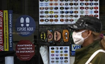 Los números negros del comercio   Coronavirus en argentina
