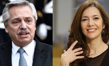Default: picante cruce al aire entre Cristina Pérez y Alberto | Medios