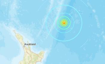 Fuerte terremoto en Nueva Zelanda y alerta de tsunami | Fenómenos naturales