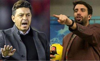 El picante tuit de Flavio Azzaro contra Marcelo Gallardo | En redes