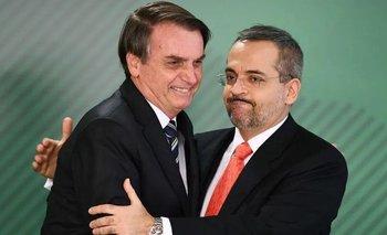Renunció el ministro de Educación de Jair Bolsonaro  | Brasil