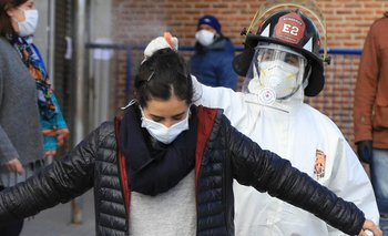 Los contagios no ceden: más de 106 mil en todo el país   Coronavirus en argentina