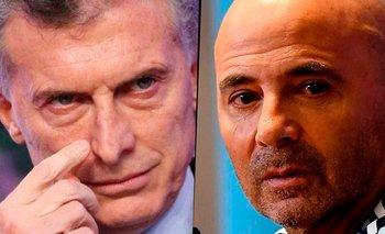 Los aprietes de Macri a la AFA para contratar a Jorge Sampaoli | Selección argentina