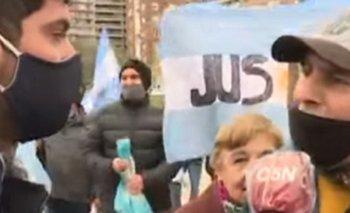 Atacaron al cronista de C5N en una marcha por Vicentin | Rosario
