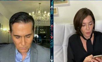 Polémico test en vivo de Barili y Cristina Pérez | Coronavirus en argentina