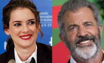 Winona Ryder estalló contra Mel Gibson   Cine