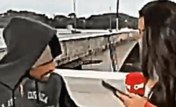 Periodista fue asaltada en vivo mientras hacía un móvil | Televisión