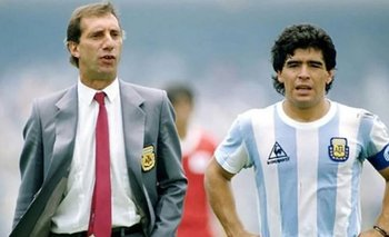 """Bilardo sigue sin saber sobre la muerte de Maradona: """"El doctor nos dirá cuándo""""   La salud de bilardo"""