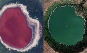 La NASA, desconcertada por un lago que cambió de color | Fenómenos naturales