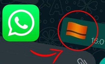 Whatsapp: qué significa y cómo activar el emoji oculto de la bandera naranja | Celulares