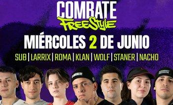 Combate Freestyle Argentina: cómo, dónde y cuándo ver la segunda fecha   Freestyle