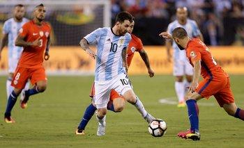 Argentina - Chile: TV, hora, streaming y formaciones | Fútbol