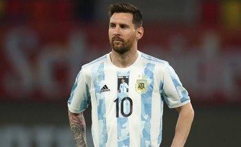La increíble deuda pendiente de Lionel Messi jugando contra Perú   Selección argentina