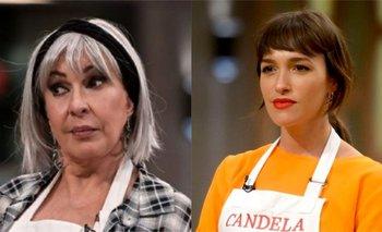 """El regalo """"hot"""" que Cande Vetrano le hizo a Georgina Barbarossa   Masterchef celebrity"""