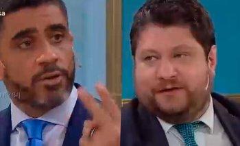 El Negro Bulos cruzó a Wiñazki y lo dejó en ridículo | Televisión