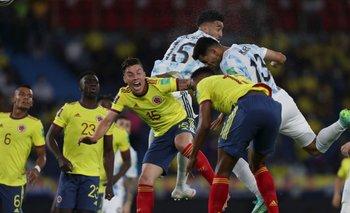 Argentina pagó muy caro los errores y empató con Colombia | Eliminatorias 2022