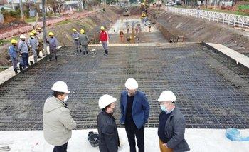 Watson y Katopodis verificaron progresos en obras en Florencio Varela | Provincia