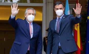 Alberto recibe al presidente de España en Casa Rosada | Alberto fernández