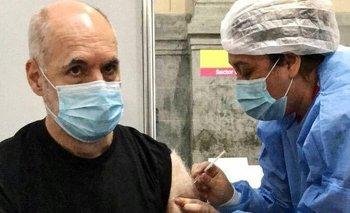 Horacio Rodríguez Larreta se vacunó contra el coronavirus   Coronavirus en argentina