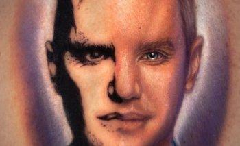 Una integrante de MasterChef Celebrity se tatuó la cara de Santiago del Moro   Masterchef celebrity