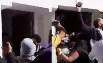 Puso la marcha peronista en manifestación opositora y casi lo linchan | Coronavirus