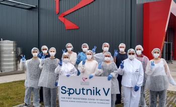 Las primeras imágenes la producción de la vacuna Sputnik V en Argentina | Coronavirus en argentina