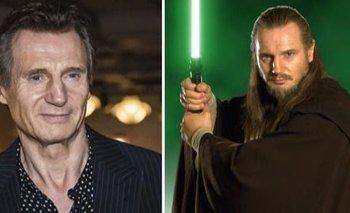 Liam Neeson puso fin al misterio y anunció si vuelve a Star Wars | Series