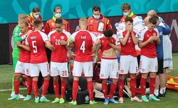 Estremecedor: Eriksen, de Dinamarca, se desplomó en pleno partido | Fútbol