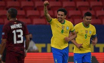 Copa América 2021: los goles de Brasil en la goleada a Venezuela | Copa américa 2021