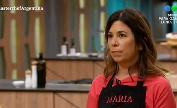A días de la final, María O'Donnell se quedó afuera de Masterchef Celebrity | Masterchef celebrity