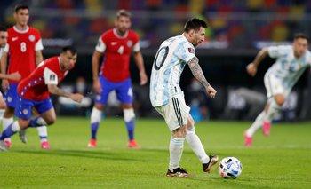 Seguí en vivo Argentina - Chile por la Copa América | Fútbol