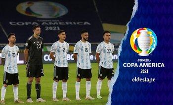 Los puntajes de la Selección Argentina en el empate ante Chile | Copa américa 2021