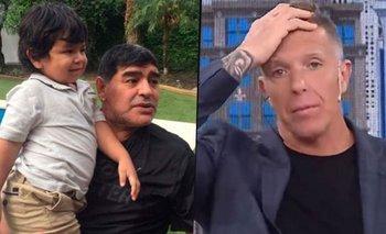El comentario de Dieguito Maradona que descolocó a Fantino   Alejandro fantino