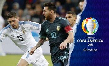 Argentina vs Uruguay: cuándo es el próximo partido de la Selección    Copa américa 2021