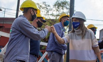 Avanza obra clave de AySA y Trenes Argentinos en San Fernando | Provincia