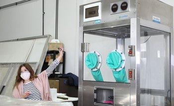 Instalan cabina de testeos seguros en el Hospital de Clínicas: de qué se trata | Coronavirus en argentina