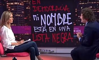 El insulto de Javier Milei que sorprendió a Viviana Canosa | Televisión