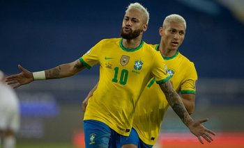 Brasil goleó a Perú: goles, jugadas y show de Neymar   Copa américa 2021