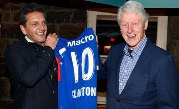 Fútbol, política y vino: Massa cenó con Clinton antes de volver a Argentina | Estados unidos
