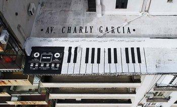 Av. Charly García: proponen su nombre para una calle emblemática | Charly garcía