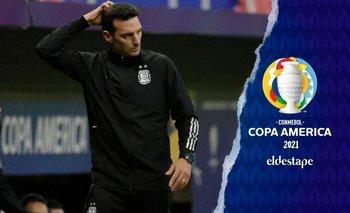 Copa América 2021: dos dudas en Argentina para enfrentar a Paraguay | Copa américa 2021