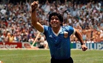 A 35 años del gol de Maradona a los ingleses: a qué hora gritarlo en la calle | Diego maradona