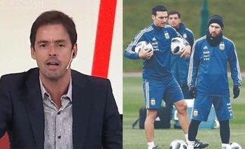 Closs reveló que Messi se plantó con Scaloni para defender a un compañero | Televisión